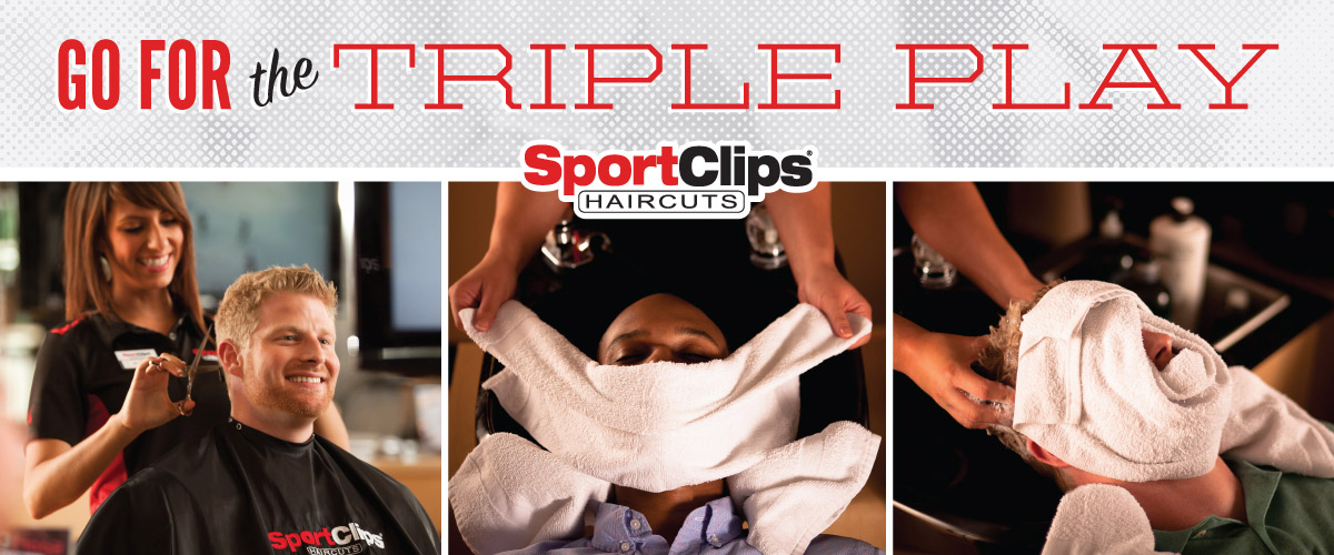The Sport Clips Haircuts of Las Cruces Triple Play